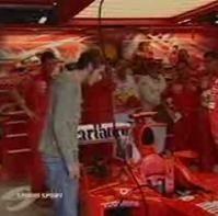 Vidéo moto : Rossi en Formule 1