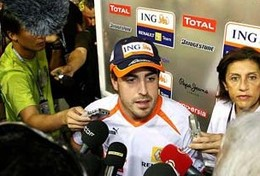 F1 - Alonso chez Ferrari : on parle de 25 millions d'euros par an