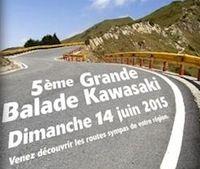 Kawasaki: 5ème balade sur les routes de France, le dimanche 14 juin 2015