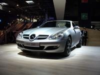 La Mercedes SLK Edition 10 : la SLK fête son anniversaire au mondial de l'auto !