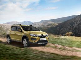 Salon de Moscou 2014 - Renault y présente la Sandero Stepway