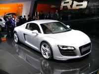 Audi R8 en direct du Mondial de l'auto