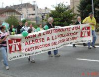 Francilienne A104 : le projet de prolongement s'attire la foudre