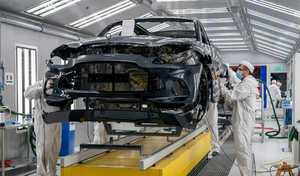 La production de l'Aston Martin DBX s'anime enfin