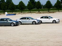 La Guerre des trois : BMW mène devant Mercedes et Audi