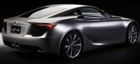 Salon de Detroit : Lexus LF-A Concept, premières infos et photos