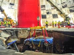 Musée Corvette : le trou sera rebouché, trois Corvette seront restaurées