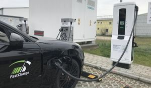Porsche et BMW annoncent la recharge ultra rapide à 450kW