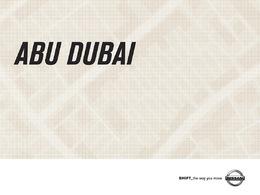 (Minuit chicanes) Pub Nissan 370Z Abou Dabi