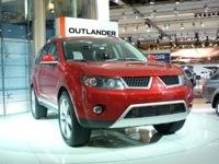 La Mitsubishi Outlander Concept au salon de Paris !