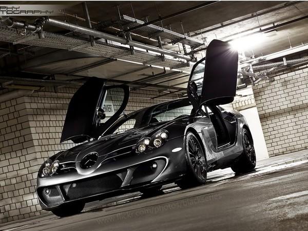 Mercedes McLaren SLR Edition : un nouveau cliché sympa