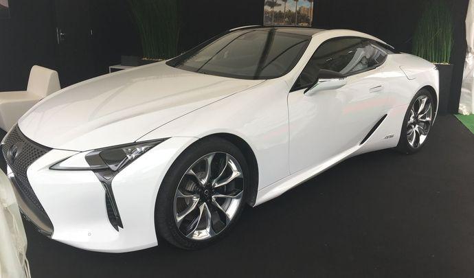 Lexus LC 2017 - Les premières images de l'essai en live + premières impressions de conduite