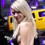 2ème- Anna - Miss Craquante - Concours Caradisiac Miss Mondial de l'Auto 2006