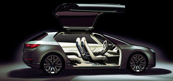 Tokyo 2009 : Subaru Hybrid Tourer Concept, enfin une belle Sub' ?