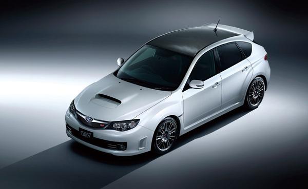 Tokyo 2009 : Subaru WRX STI Carbon