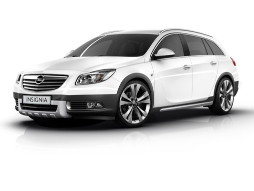Future Opel Insignia Cross Four, cuissardes et 4 roues motrices