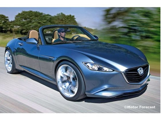 Future Mazda MX-5 : façon Kodo et Shinari ?