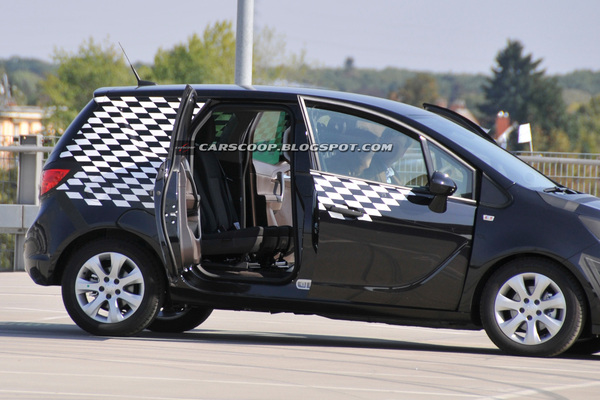 Portes ouvertes sur le futur Opel Meriva