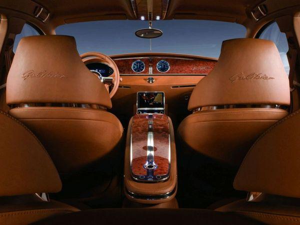 Le concept Bugatti Galibier évolue régulièrement