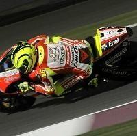 Moto GP - Test Qatar D.2: Tempête sous un crâne et mal à l'épaule chez Ducati