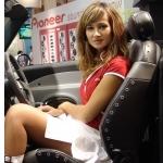 Isabelle - Miss Troublante - Concours Caradisiac Miss Mondial de l'Auto 2006