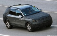 Spyshot : encore le futur Volkswagen Touareg