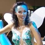 Mlle X - Miss Papillon - Concours Caradisiac Miss Mondial de l'Auto 2006