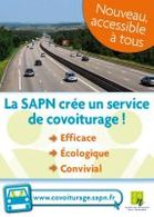 L'autoroute encourage le co-voiturage !