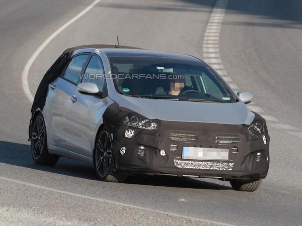 Surprise : une Hyundai i30 sportive se prépare