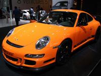Porsche 911 GT3 RS au Mondial de Paris