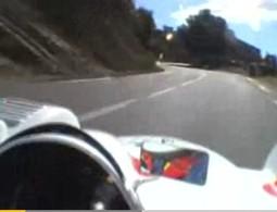 Vidéo : Une petite course de côte assez effrayante..