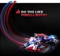 Pirelli ouverture sur Facebook d'une page moto