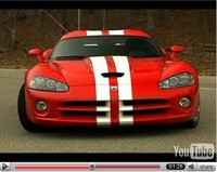 La vidéo du jour : nouvelle Dodge Viper SRT-10 2008