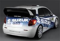 Suzuki SX4 WRC: débuts en Finlande