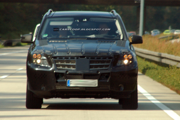 Spyshot : futur Mercedes ML