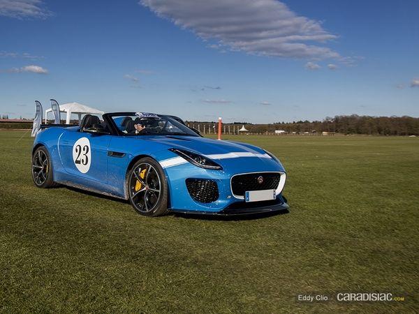 Photos du jour : Jaguar F-Type Project Seven (Rallye D'Aumale)