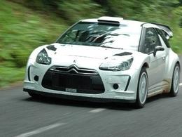 Citroën DS3 WRC pour van Merksteijn Jr