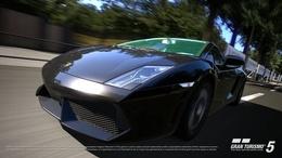 Nouvelles photos de Gran Turismo 5 : Lamborghini LP560-4 et dégâts physiques au programme