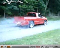 [vidéo] : burn out ... off road
