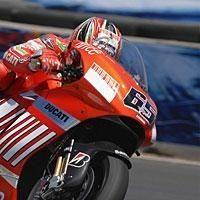 Moto GP: Etats Unis: Capirossi: Le désastre pour un ressort de sélecteur.