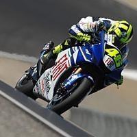 Moto GP: Etats Unis: Rossi: La gomme a effacé son sourire.