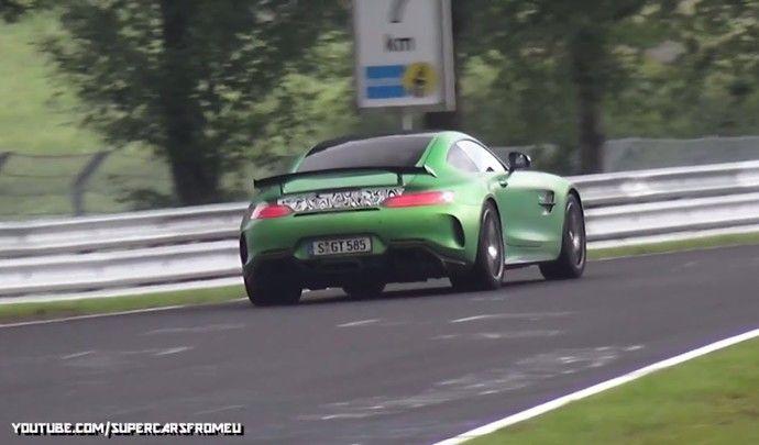 Mercedes prépare une AMG GT Black Series