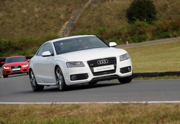 Audi A5 Coupé châssis aluminium : 110 kilos en moins