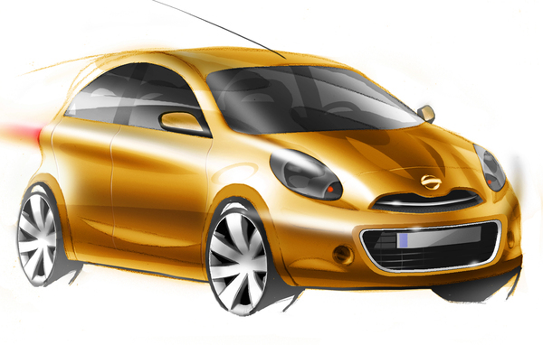 "Nissan nous dessine sa future compacte ""globalisante"""