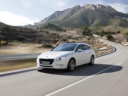 La Peugeot 508 élue meilleure voiture de l'année 2012 en Espagne