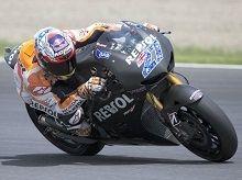 Moto GP: Casey Stoner en a fini avec ses premiers essais