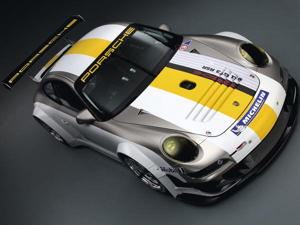 Porsche présente une GT3 RSR évoluée pour 2011