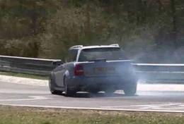 Vidéo : L'audi RS4 MRC qui passe....