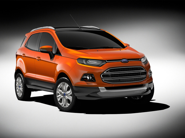 New Delhi 2012 : Ford EcoSport, petit SUV global