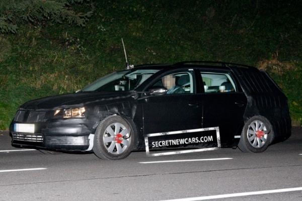 Spyshot : future Volkswagen Passat break, première prise